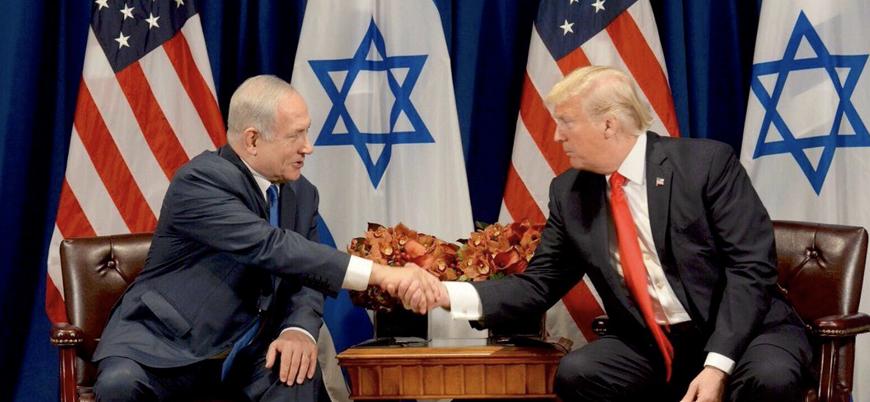 ABD: İsrail'in Filistin'deki ilhakını tanımaya hazırız
