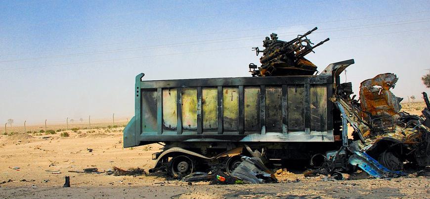 UMH'den Hafter güçlerine mühimmat taşıyan konvoya hava saldırısı