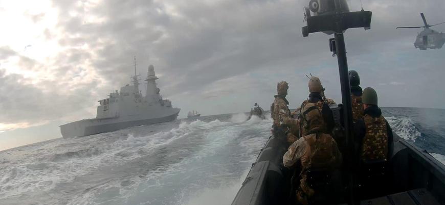 Libya'ya silah ambargosunu denetleyecek 'Irini Operasyonu' başladı