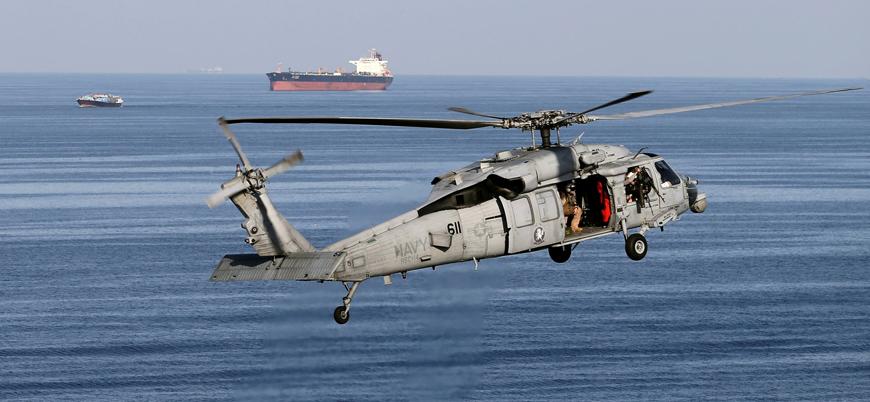 Kanada'ya ait askeri helikopter Yunanistan'da düştü