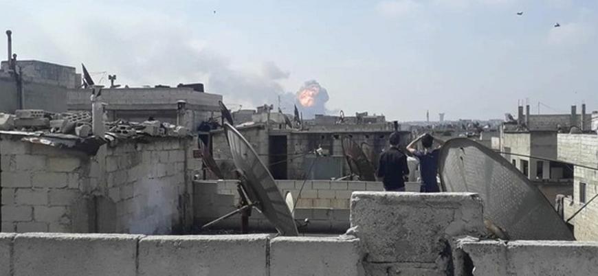 Humus'ta Esed rejimine ait mühimmat deposuna saldırı