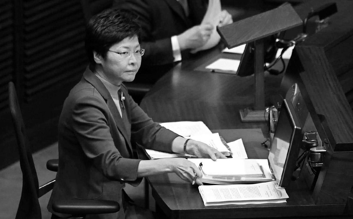 """Hong Kong'un yeni liderini Çin seçti"""