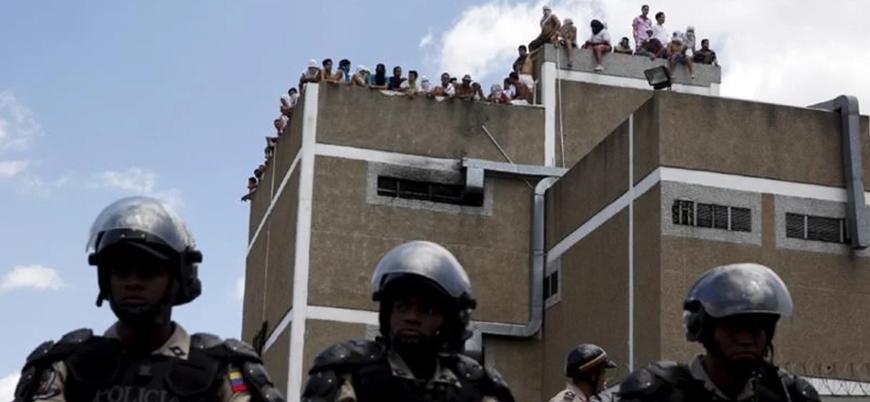 Venezuela'da cezaevi isyanı: 40 ölü 50 yaralı