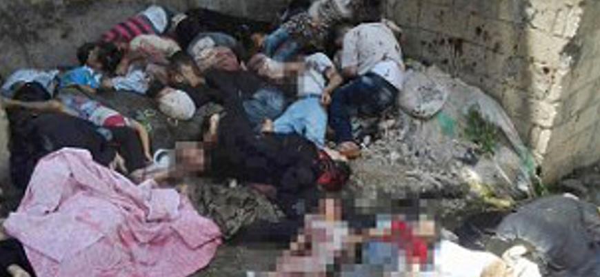 Suriye'de 400'den fazla sivilin katledildiği Beyda ve Banyas katliamlarının 8'inci yılı