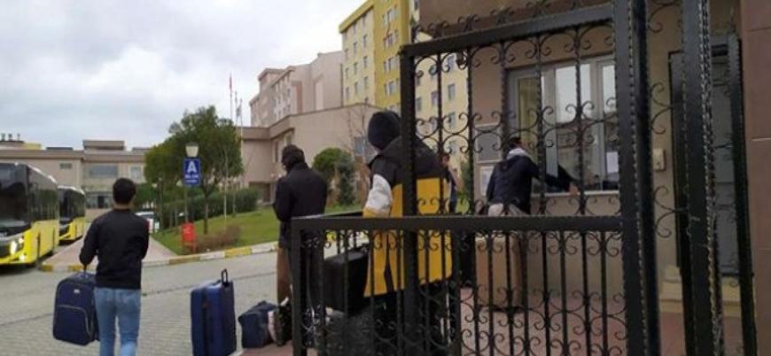 AFAD: Yurtlarda karantinaya alınan 67 bin 197 kişiden 37 bin 944'ü tahliye edildi