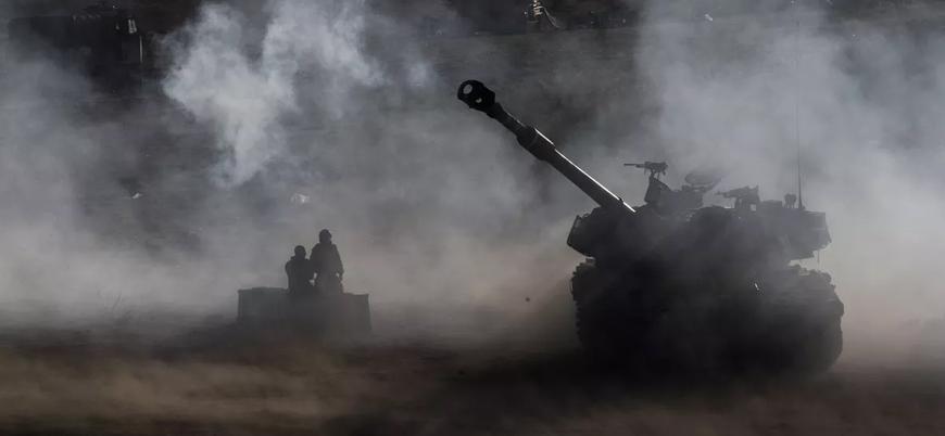 İsrail Gazze'de Hamas'a ait noktaları vurdu