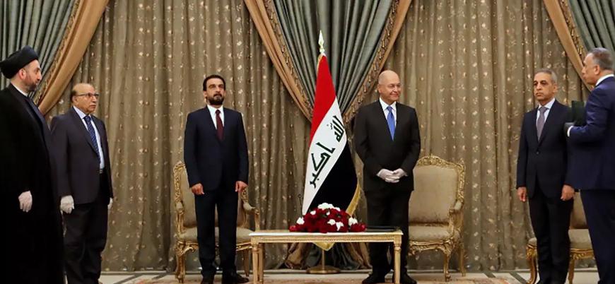 Muhammed bin Selman'dan Bağdat hükümetinin yeni başbakanı Kazimi'ye tebrik