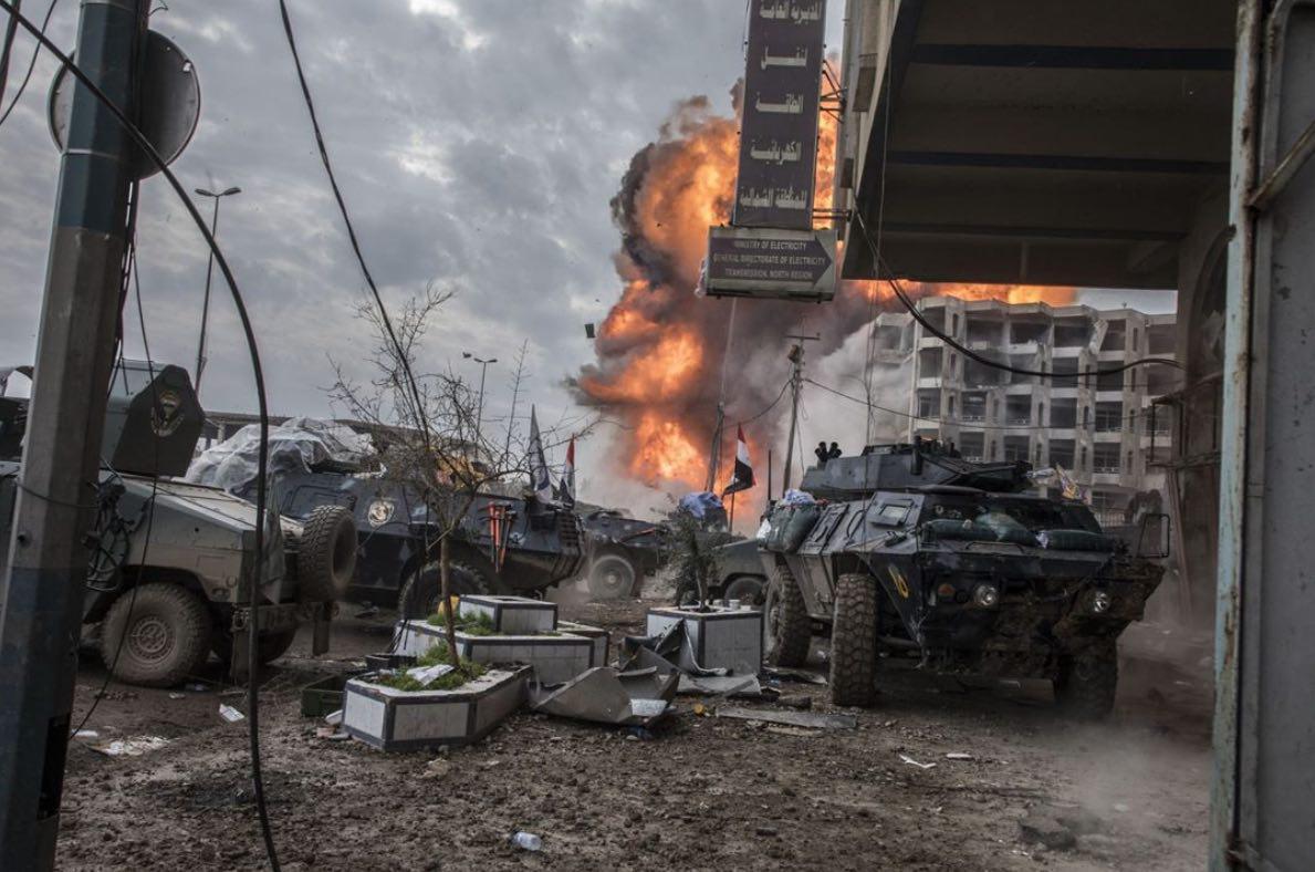 Musul'da son perde ve IŞİD'in 'sofistike' silahları