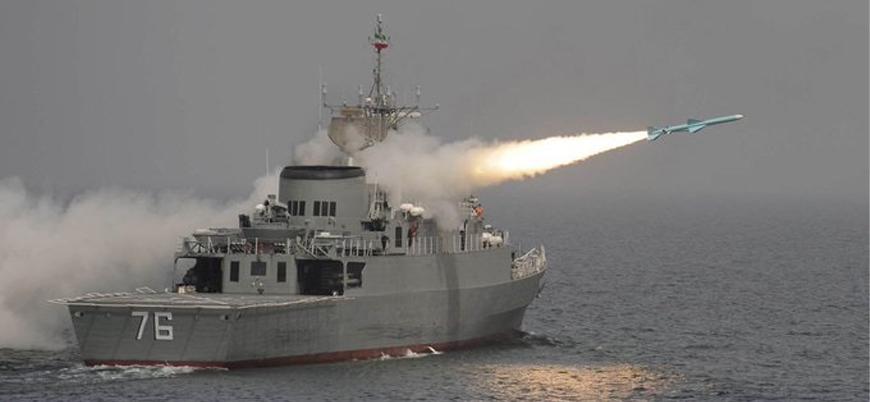 İran donanması tatbikat esnasında kendi gemisini vurdu: Onlarca ölü