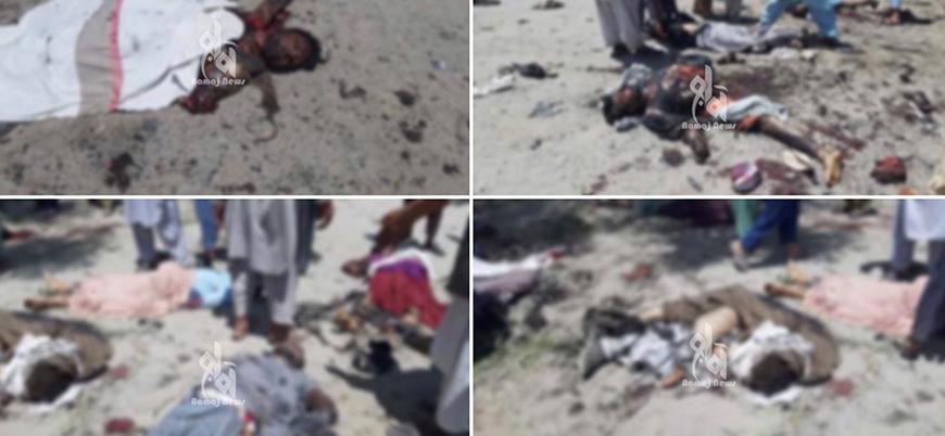Afganistan'da cenaze törenine bombalı saldırı: Onlarca ölü ve yaralı