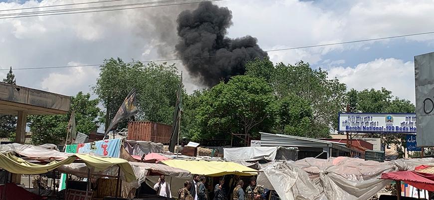 Afganistan'ın başkenti Kabil'de hastaneye saldırı