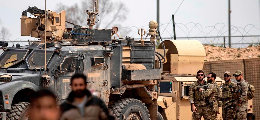 Haseke'de ABD askerlerinin yolunu kestiler