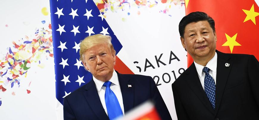 Trump'a 'Çin'e yaptırım uygulama' yetkisi veren tasarı