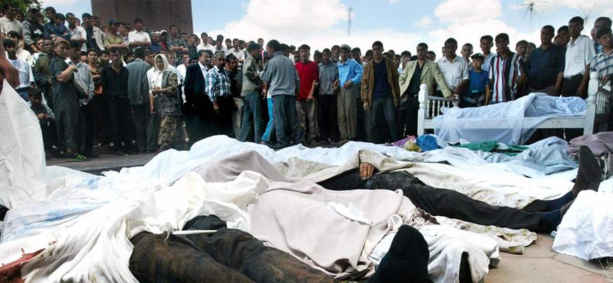 Özbekistan'da yüzlerce sivilin öldürüldüğü Andican Katliamı'nın 15'inci yılı