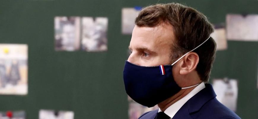 Fransa'da maske zorunlu peçe yasak