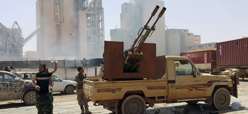 Almanya'dan Libya'daki çatışmalara taraf olan ülkelere silah ihracatı