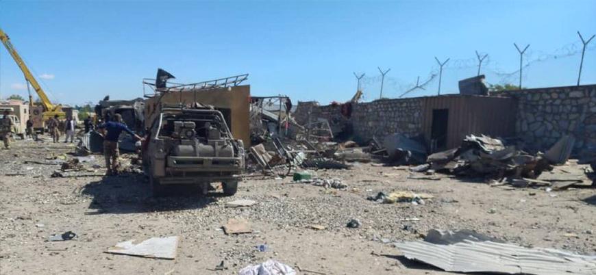 Taliban'dan istihbarat merkezine bombalı saldırı