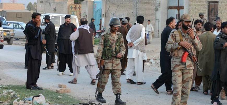 Belucistan'da Pakistan ordusuna saldırı: 7 ölü
