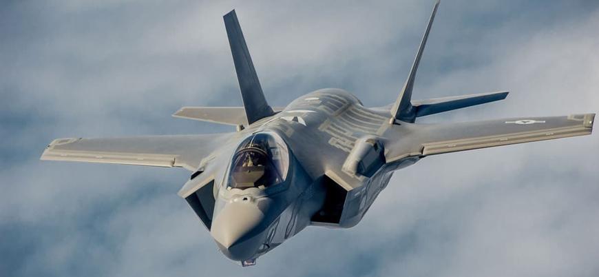 ABD'de bir F-35 iniş sırasında düştü