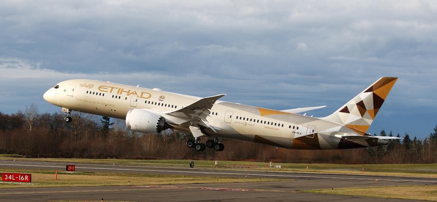 Diplomatik ilişkileri bulunmuyordu: BAE'den İsrail'e ilk uçuş
