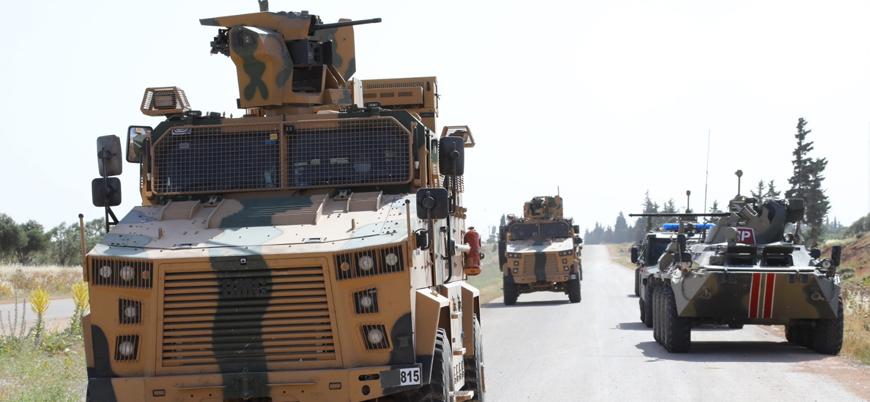 İdlib'de 12'nci Türk-Rus ortak devriyesi