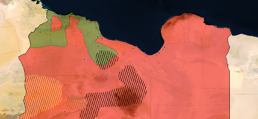 Libya situation map (May 2020)