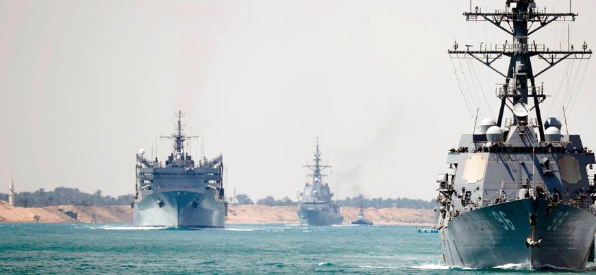 Körfez'de gerilim: ABD'den 'savaş gemilerimize yaklaşmayın' uyarısı