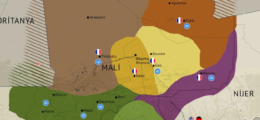 Batı Afrika'da silahlı gruplar ve etkinlik alanları