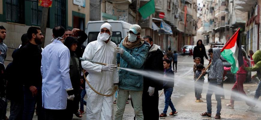 Filistin'de vaka sayısı 2 bini aştı