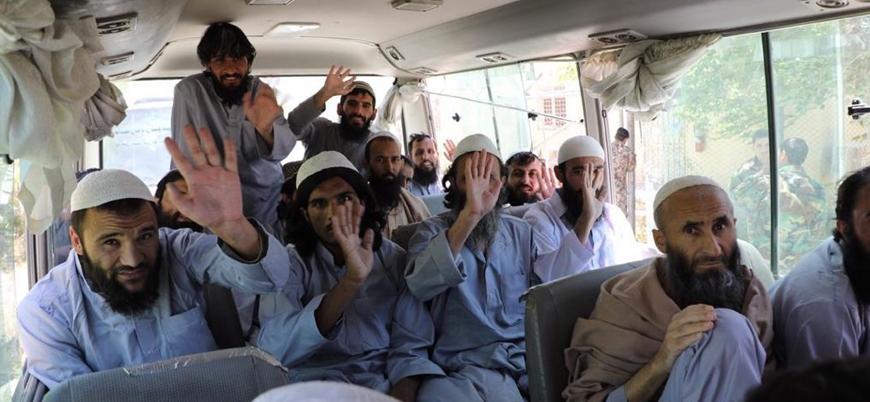 Kabil hükümeti 100 Taliban mahkumunu serbest bıraktı