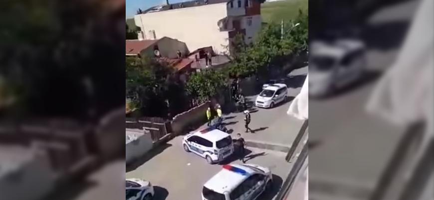 Çorlu'da evlerinin önünde oturan vatandaşları coplayan polislere görevden el çektirildi