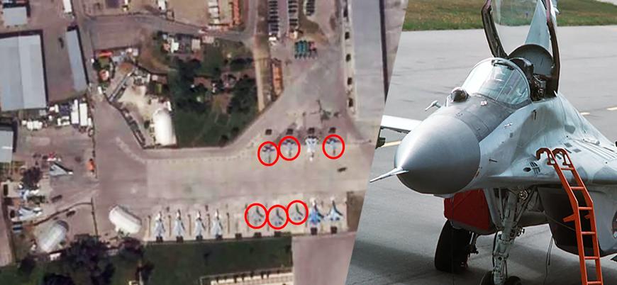 Rusya MiG-29 savaş uçaklarını Suriye'den Libya'ya gönderdi