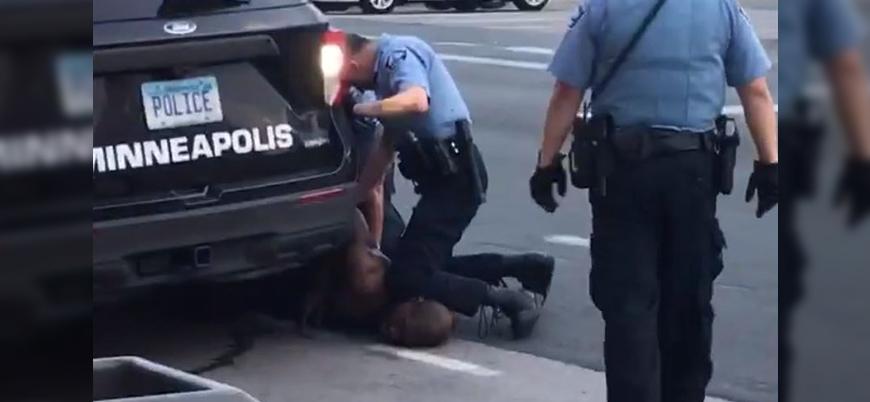 ABD polisi siyahi bir kişiyi gözaltı esnasında öldürdü