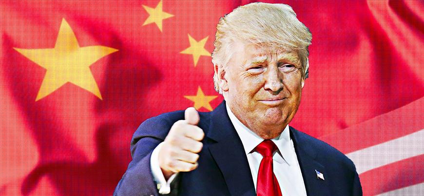 Trump: Çin'e karşı harekete geçiyoruz