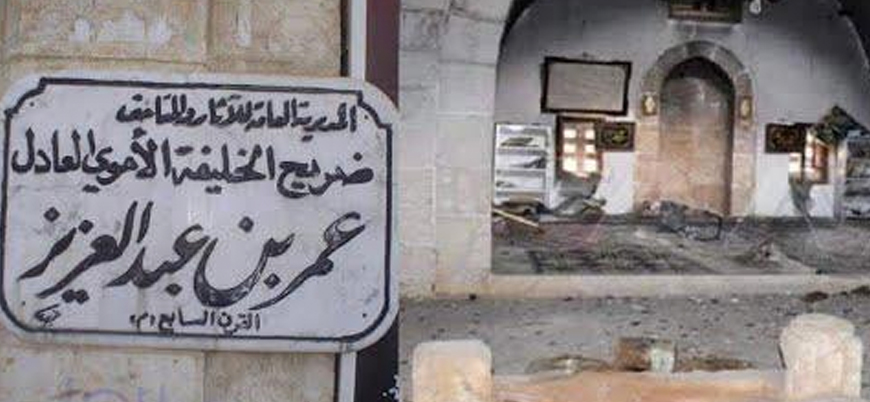 Rusya ve İran destekli Şii milisler Ömer bin Abdulaziz'in türbesini tahrip etti