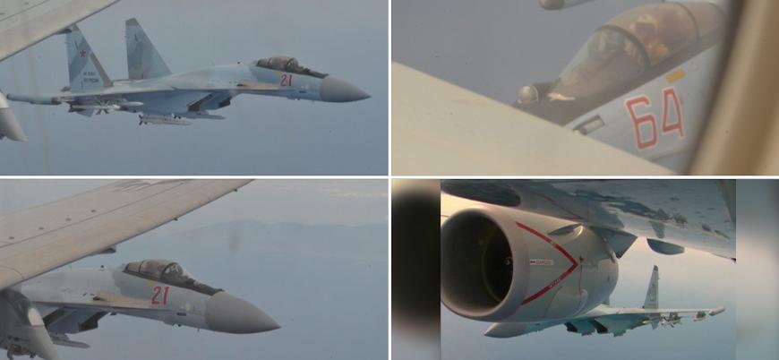 Akdeniz'de ABD ve Rus savaş uçakları arasında 'tehlikeli yakınlaşma'