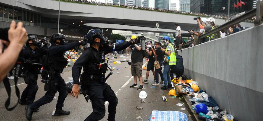 Çin'den Hong Kong'da gerilimi artıracak adım
