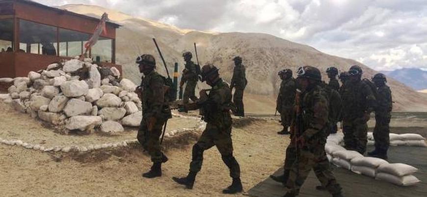 Çin ile Hindistan arasında sınır gerginliği: İki ülke bölgeye binlerce asker gönderdi
