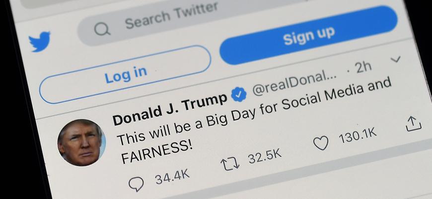 Twitter'dan Trump'ın tweetine erişim engeli