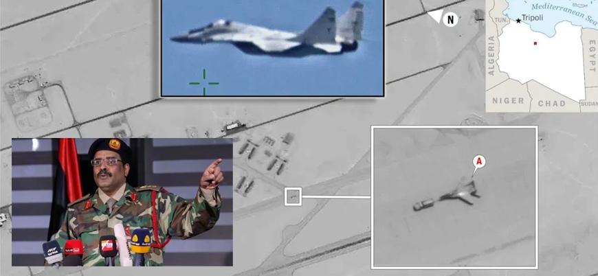 Hafter'in sözcüsü: Libya'da Rus savaş uçağı yok