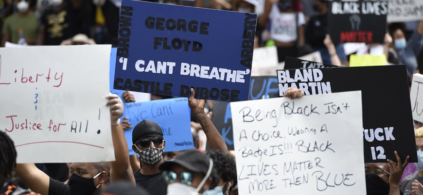ABD'de siyahi sivil George Floyd'u öldüren polis tutuklandı