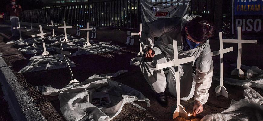 Latin Amerika'da koronavirüs vaka sayısı 1 milyonu geçti