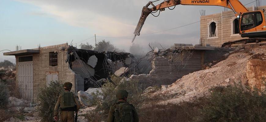 İsrail Kudüs'te Filistinlilere ait 6 iş yerini yıktı