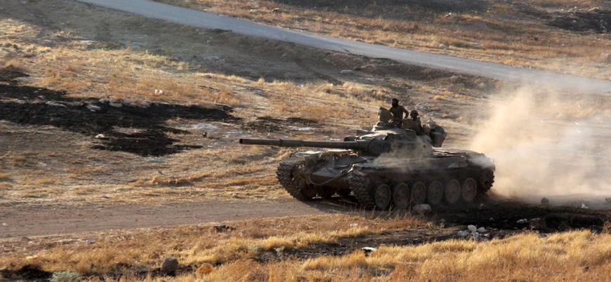 Suriye'de Esed rejimi savaş boyunca 3 bini aşkın zırhlı araç kaybetti