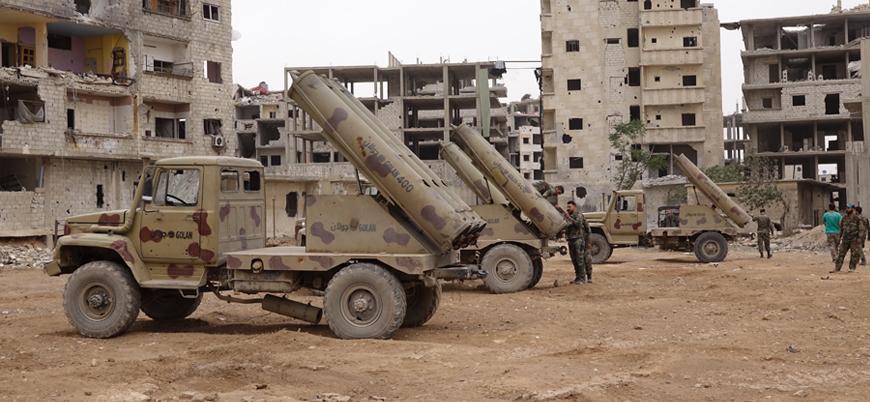 """""""Rusya ve İran destekli Esed rejimi İdlib'e saldırmaya hazırlanıyor"""""""