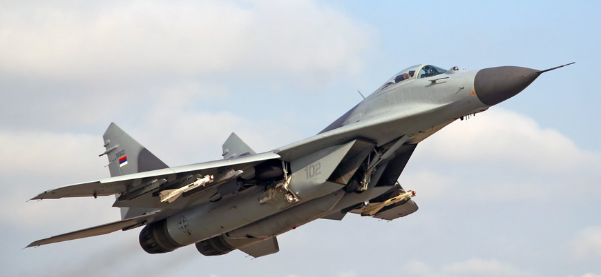 """Rusya Suriye'ye MiG-29 tipi savaş uçağı gönderdi"""