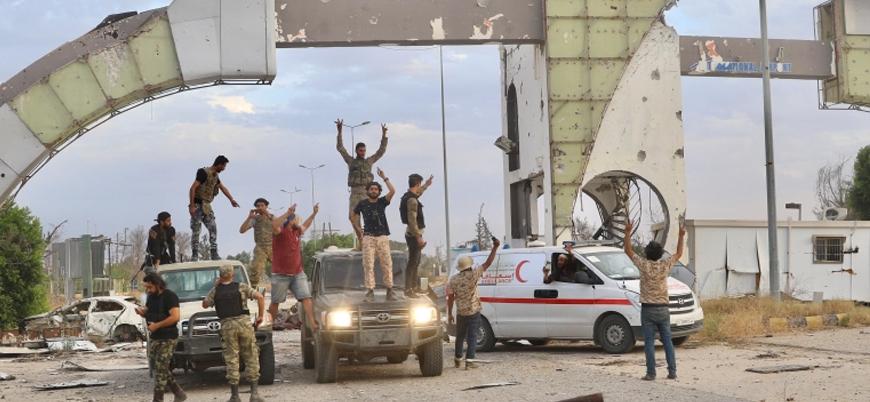 Libya'da Türkiye destekli UMH güçleri Tarhuna'yı ele geçirdi