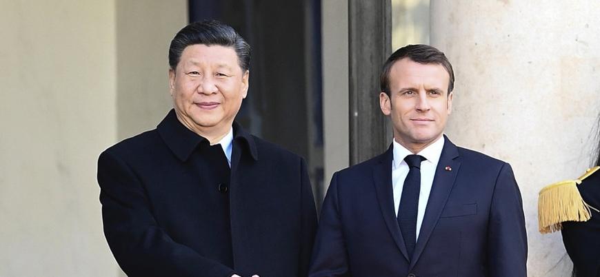 Fransa ve Çin küresel salgın sorununu ele aldı
