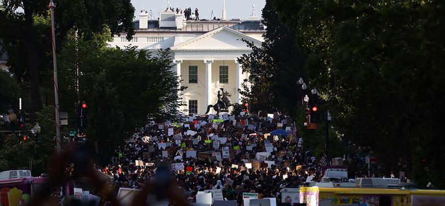 """""""Trump yönetimi Washington'daki protestolar için 10 bin asker istedi"""""""
