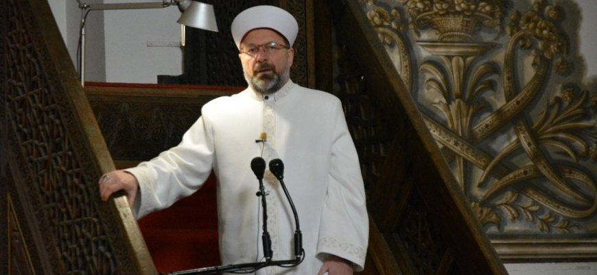 Diyanet İşleri Başkanı Erbaş: Teravih namazı evlerde kılınacak